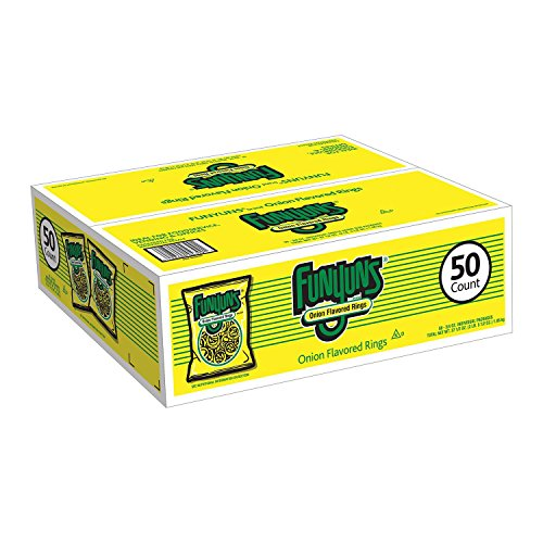 Funyuns Onion Flavored Ring Snacks - 50 -