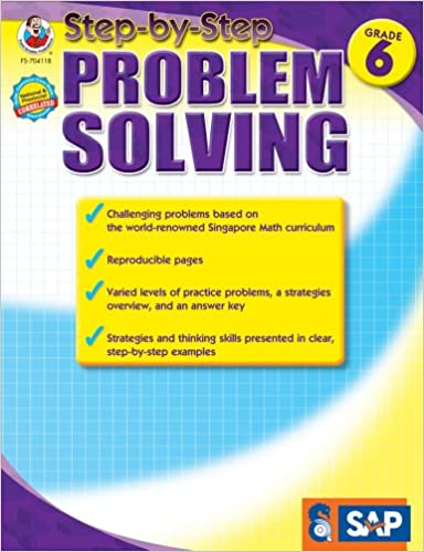 how to solve math problems step by step