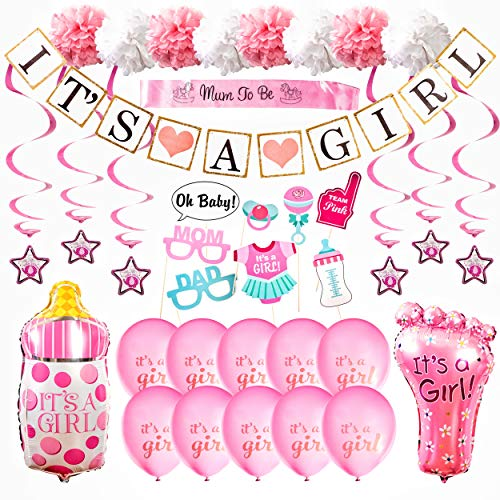 Baby Shower Decorations for Girl Party Kit –