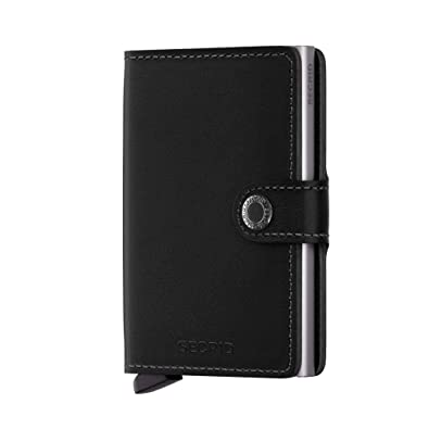 68c2478a3fb Secrid mini wallet genuine black leather with RFID protection / with one  click all cards slide