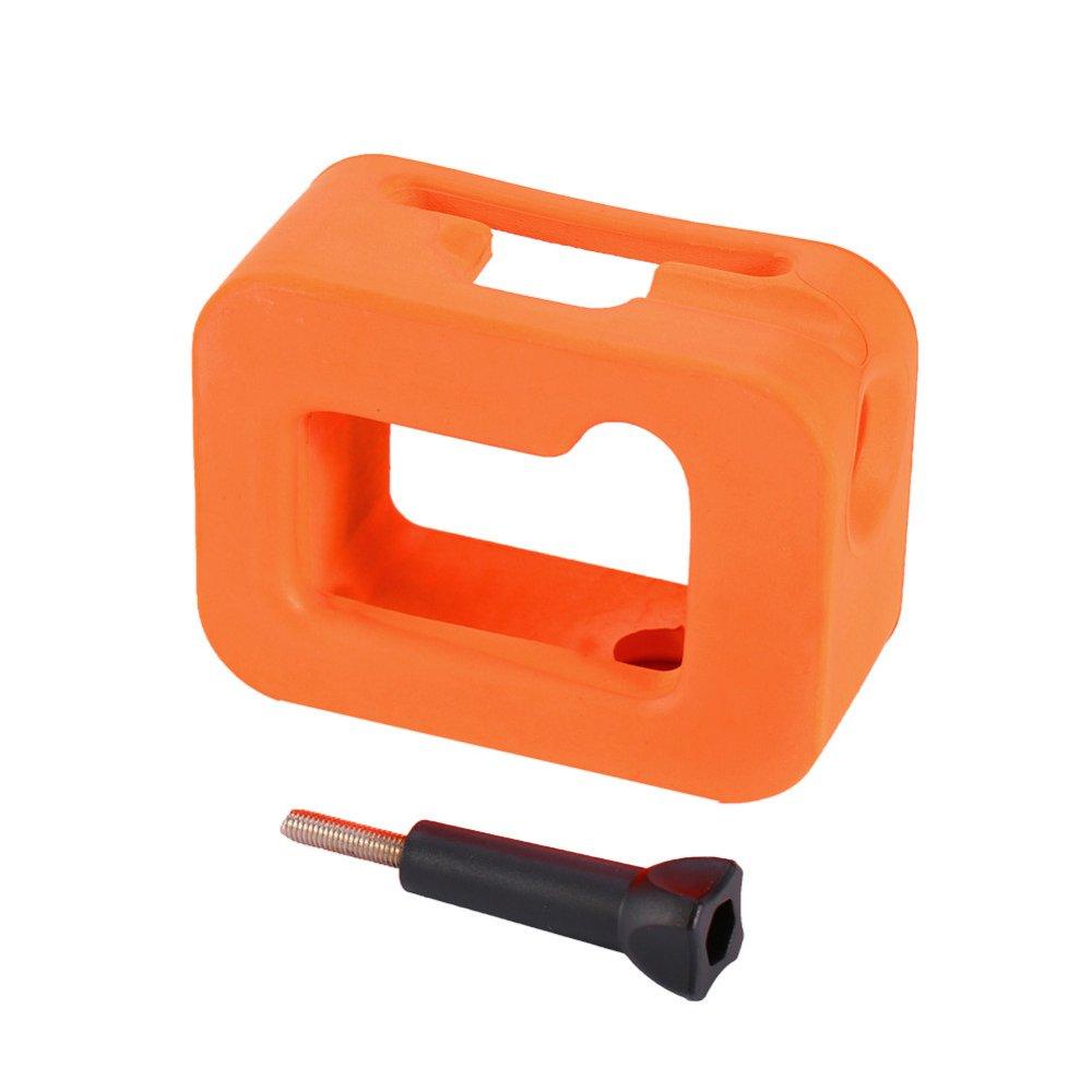 Donkeyphone - Funda Carcasa Flotador ACUÁTICO Naranja para CÁMARAS GOPRO Hero 3+ / 4: Amazon.es: Electrónica