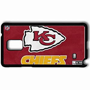 Personalized Samsung Note 4 Cell phone Case/Cover Skin 1005 kansas chiefs Black