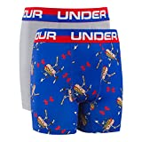 Kyпить Under Armour UA Original Series Home Run Hot Dog Boxerjock 2-Pack YSM Royal на Amazon.com