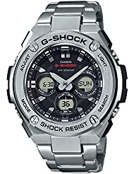 Mens Casio G-Shock G-Steel Stainless Steel Bracelet Watch GSTS310D-1A