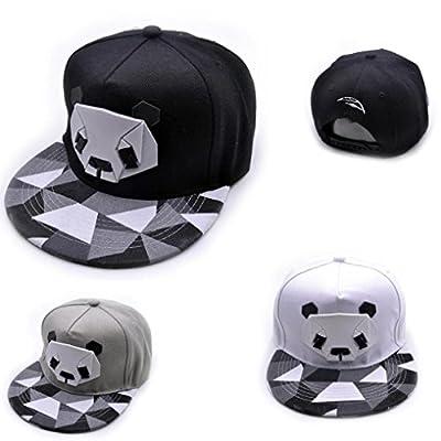 WILLTOO New Women Men Cute Panda Baseball Cap Snapback Golf Ball Hip-Hop Hat
