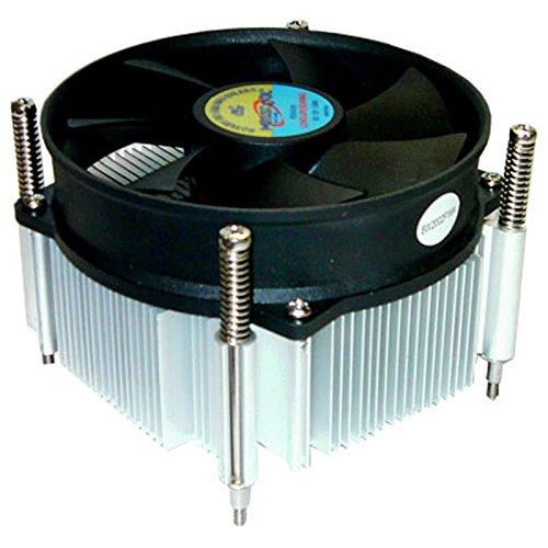 Price comparison product image MASSCOOL 90mm Ball Bearing CPU Cooler for INTEL Socket LGA 1155 / 1156 (8W2002F1M4)