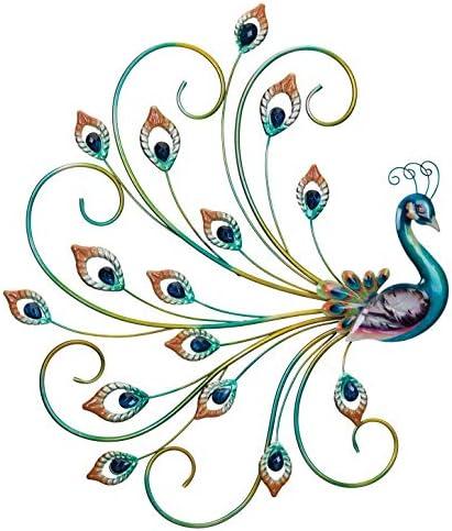 Regal Art Gift Pretty Peacock Wall Decor