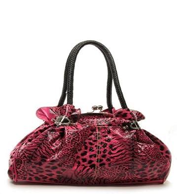 Amazon.com: HBM - Monedero con estampado de leopardo, color ...