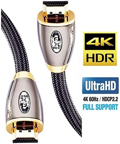 3M 5M 8M 10M 15M Lot ULTRA 2.0 a HDMI CABLE for 3D 4K HDTV Super-Speed 18Gbps