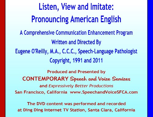 Listen, View and Imitate: Pronouncing American English