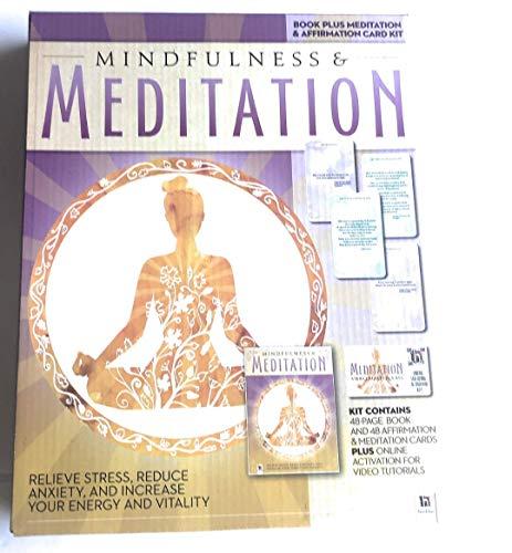 Get A Peace of Mind with Mindfulness & Meditation Meditation Affirmation Card -