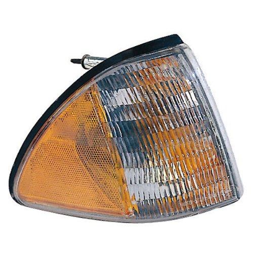 1987-1993 Ford Mustang Corner Park Light Outer Turn Signal Marker Light Right Passenger Side (1987 87 1988 881 989 89 1990 90 1991 91 1992 92 1993 93)