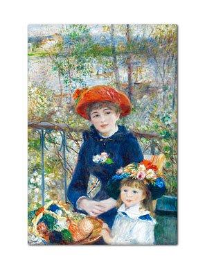 On the Terrace Renoir Painting Fridge ()