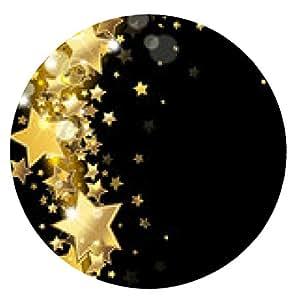 alfombrilla de ratón torbellino estrellas - ronda - 20cm