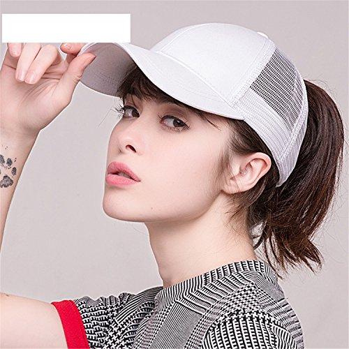 2018 Ponytail Baseball Cap Women Messy Bun Baseball Hat Snapback black by Gome-z Snapback (Image #2)