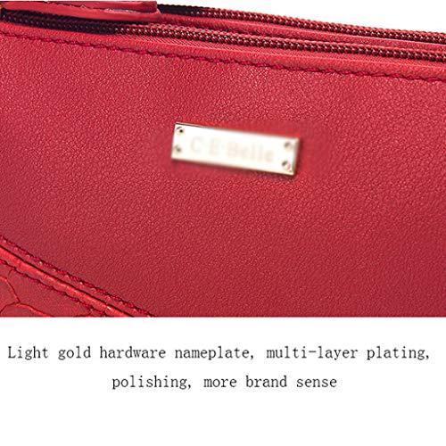 Del Las A Personalidad Bolso Versátil Handbag Portátil Diagonal La a Hombro Mujeres Femenino Paquete Empapado De Pu wIaaPv