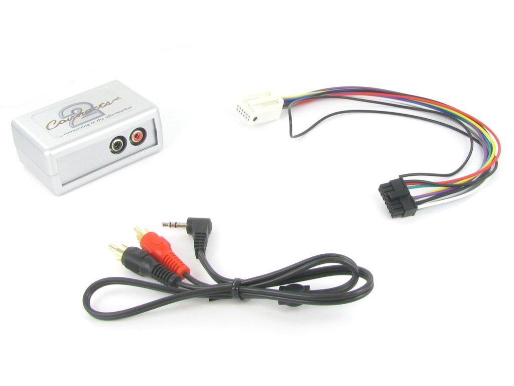 Connects2 CTVVGX004 VW EOS/Golf/Passat/Polo/Jetta OEM Adaptateur d'Interface auxiliaire