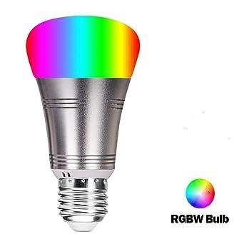 color del Muti del bulbo de luz inteligente, Bombilla LED inteligente, móvil APP oscurecimiento