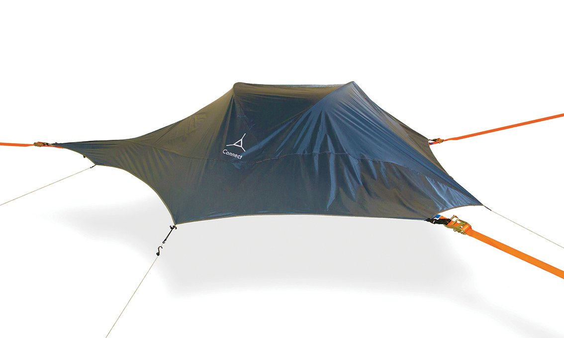 Tentsile Connect - Suspended Camping Tree House Tent - Two Person - Dark Grey