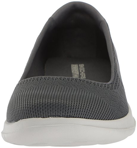 Charcoal lite Skechers Slipper Walk Go 15400 Dreamer CgF8qg