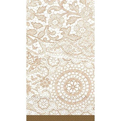 Delicate Lace Guest Paper Towels   16 Ct.   8