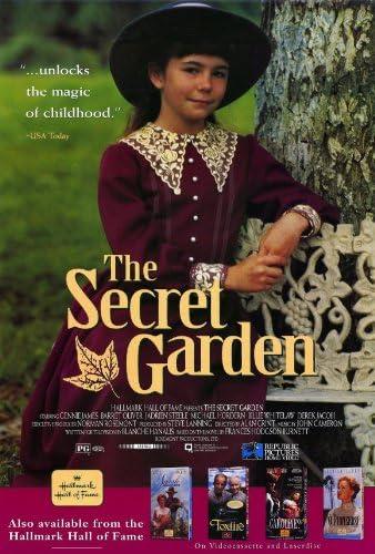 El jardín secreto Póster de película B 11 x 17 en – 28 cm x 44 cm Kate Maberly Maggie Smith Haydon Prowse Andrew Knott John Lynch: Amazon.es: Hogar