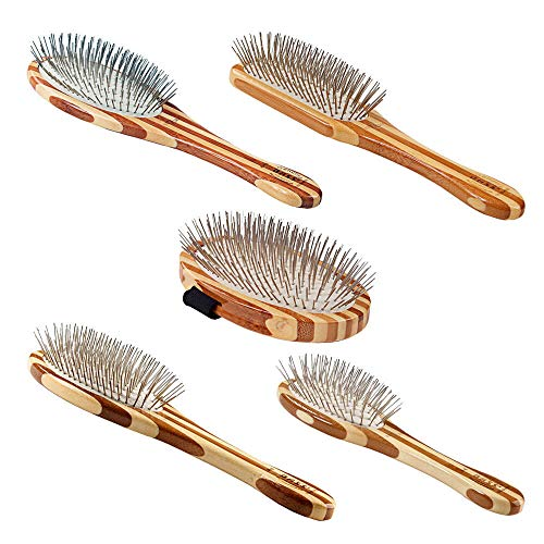 Bass Brushes BASS Wire Pet Groomer - Large Oval by Bass Brushes