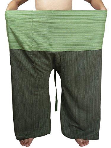 Lovely Plus Fisherman Wrap Pants Plus Size Mens Womens Casual Yoga Pants Waist 77