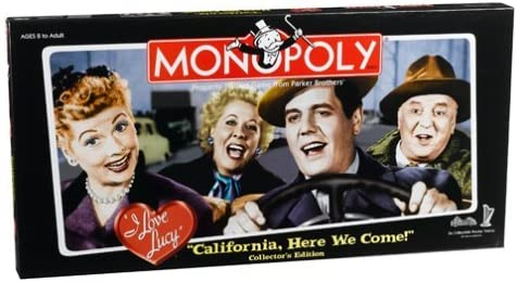 I Love Lucy 'California Here we Come' Monopoly [並行輸入品]