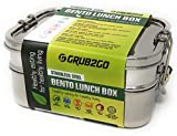 Stainless Steel 3-Layer Bento Lunch Box w/SECURLOCK Lids + FREE FOOD...