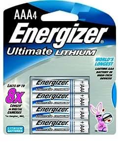 Energizer L92 batería no-recargable - Pilas (Litio, Cilíndrico, AAA) Plata