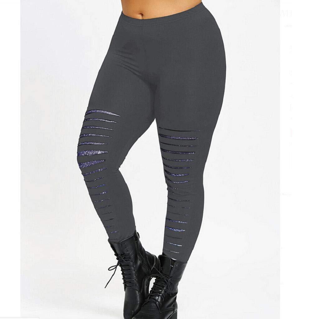 QUICKLYLY Yoga Mallas Leggins Pantalones Mujer,Moda Tallas ...