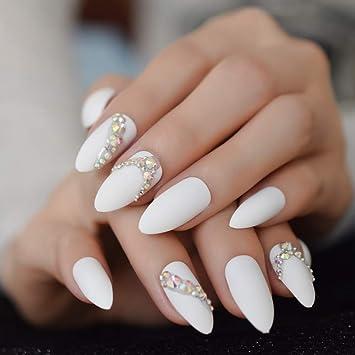 Amazon.com: Stiletto Mate Press On Nails - Esmalte de uñas ...