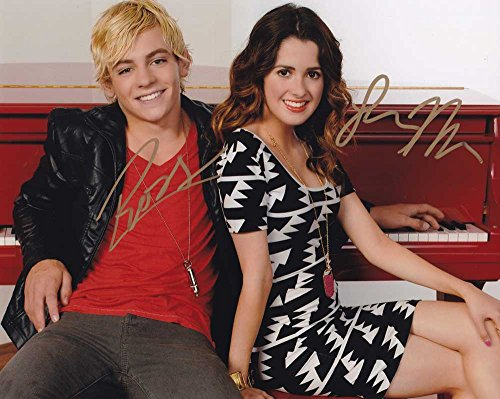 Austin & Ally In-person Autographed Cast Photo By 2 from Sign Here Autographs