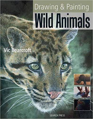 Book Drawing and Painting Wild Animals