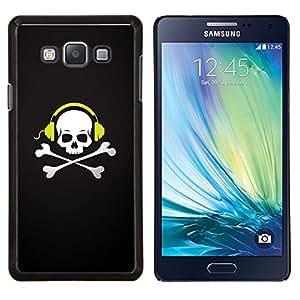 LECELL--Funda protectora / Cubierta / Piel For Samsung Galaxy A7 A7000 -- Cráneo Batir Huesos --