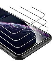 """UNBREAKcable [3-pezzi] Pellicola Vetro Temperato iPhone XR - Durezza 9H Vetro Temperato Pellicola Protettiva per iPhone XR 6.1"""" - [Infrangibile, Anti Bolle, Anti Graffi, Adattabile alla Custodia]"""
