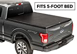 TruXedo TruXport Soft Roll Up Truck Bed Tonneau Cover | 256001 | fits 16-19 Toyota Tacoma 5' bed