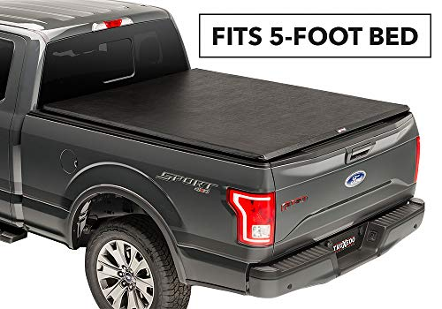 TruXedo TruXport Soft Roll-up Truck Bed Tonneau Cover | 256001 | fits 16-19 Toyota Tacoma 5' Bed