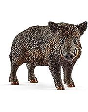 SCHLEICH SC14783 Wild Boar Toy Figure Brown