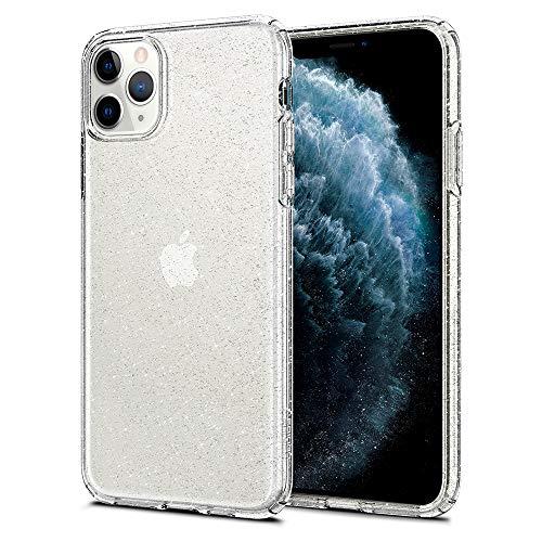 Spigen Liquid Crystal Glitter Designed for Apple iPhone 11 Pro Max Case (2019) - Crystal Quartz