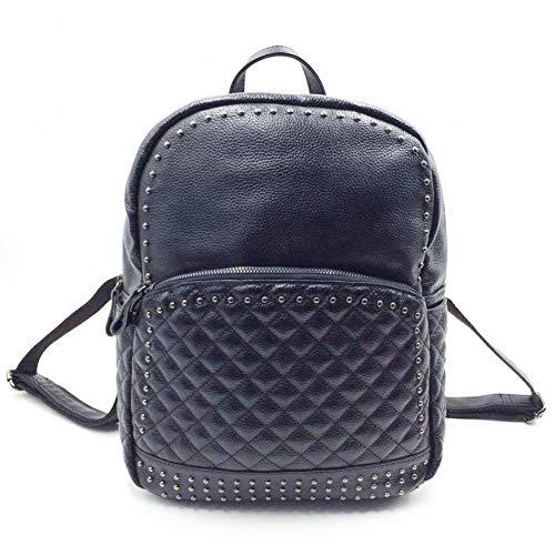 style sac bandoulière bandoulière à TT sac sac double double dos fond tendance Sac en à nouvelle cm cm à cm 12 hauteur 31 Longueur épaisseur bandoulière College de cuir dou à du inférieure 24 mode sac wpIY4p