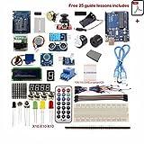 Universal Ultimate UNO R3 Starter Kit for 100% Arduino-Compatible, UNO R3 Board Includes
