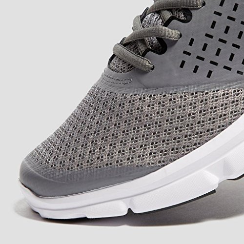 Under Armour Scarpe da Corsa Micro G Speed ​​Swift da Uomo, Grigio, 45