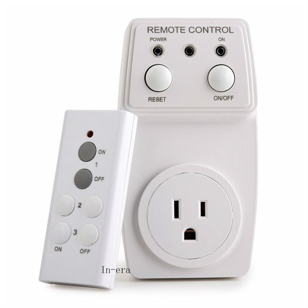 Wireless Appliance Remote Control Lamp Light Switch Wall Swag Wiring Kit Switches
