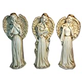 Pray - Think - Love - Angel Figurines Set Gift Bundle
