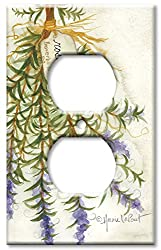 Art Plates - Rosemary Switch Plate - Outlet Cover