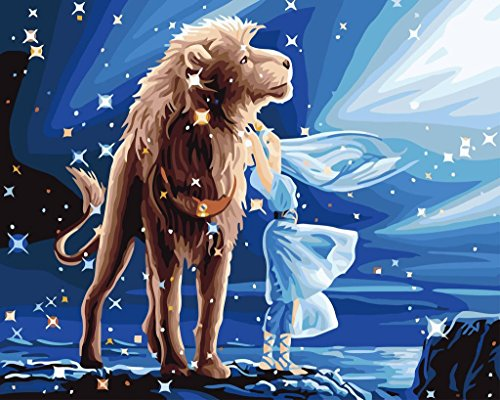 yeesam-art-paint-by-number-kits-for-adults-kids-zodiac-leo-constellation-16x20-inch-linen-canvas-wit
