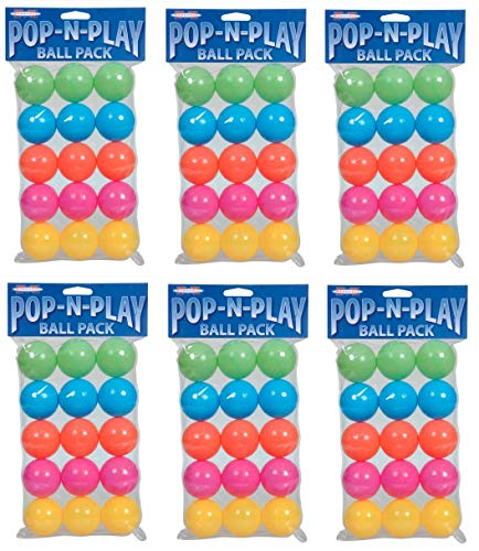 (Marshall Pet Products Pop-N-Play Ball Pack (6-pack))