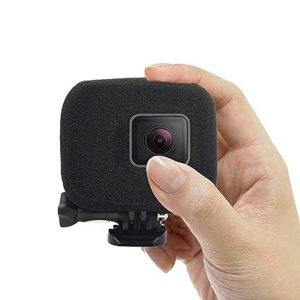 KOBWA - Funda de Espuma para Parabrisas Compatible con GoPro Hero5, Hero6, Reduce el Ruido del Viento para una grabación de Audio óptima (One Pack)